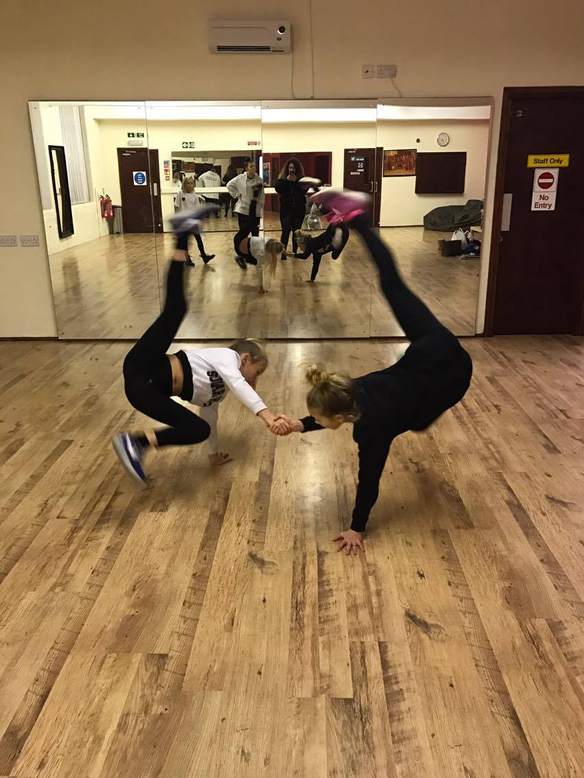 Learn to dance breakdance moves