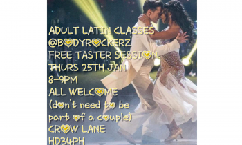 Free Taster of New Adult Latin Class @Bodyrockerz