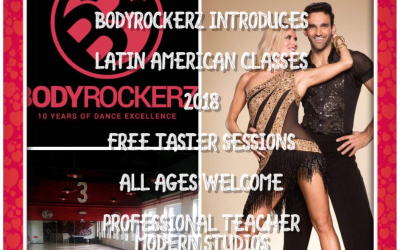 Latin American Classes Start @Bodyrockerz…. Free Taster Sessions For All Ages Announced!!!