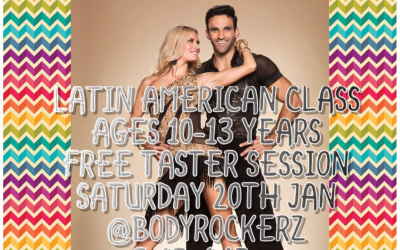 Free Taster Session Tomorrow for Latin American Dance Lesson for Ages 10-13 Years