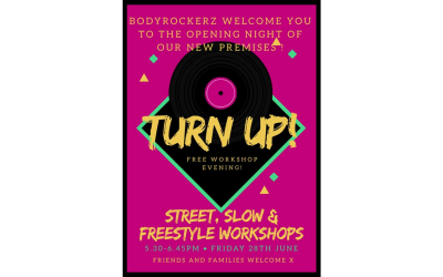 Bodyrockerz welcome evening
